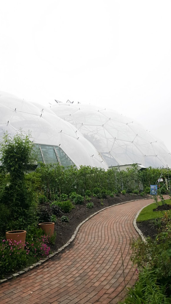 The Eden Project Biomes - Med-Terrace Restaurant Experience