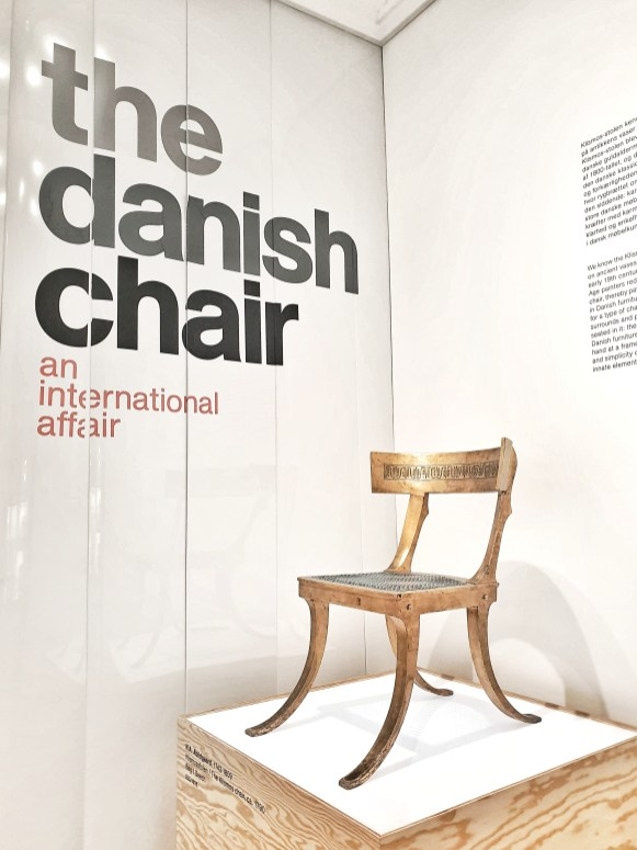 The Danish Chair exhibition at Denmark Design Museum - Graceful Blog