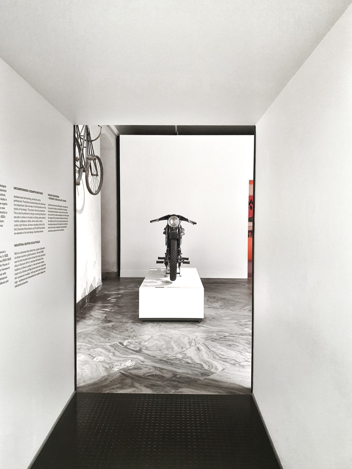 Motorbike and bicycle exhibition