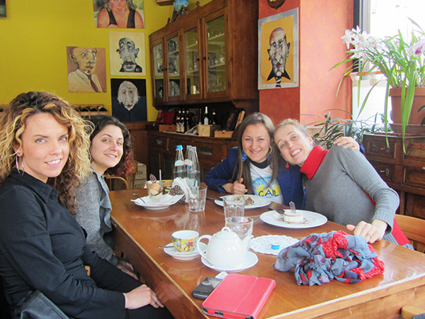 An All-Women Work Trip to the Suburbs of Milan
