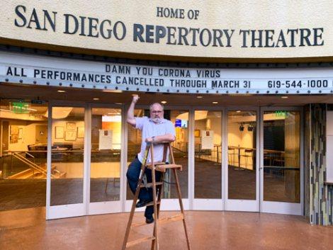 San Diego Repertory Theatre COVID-19 closing