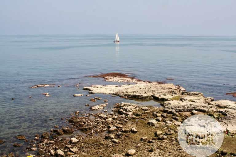 The charming seaside of Trani, Puglia.