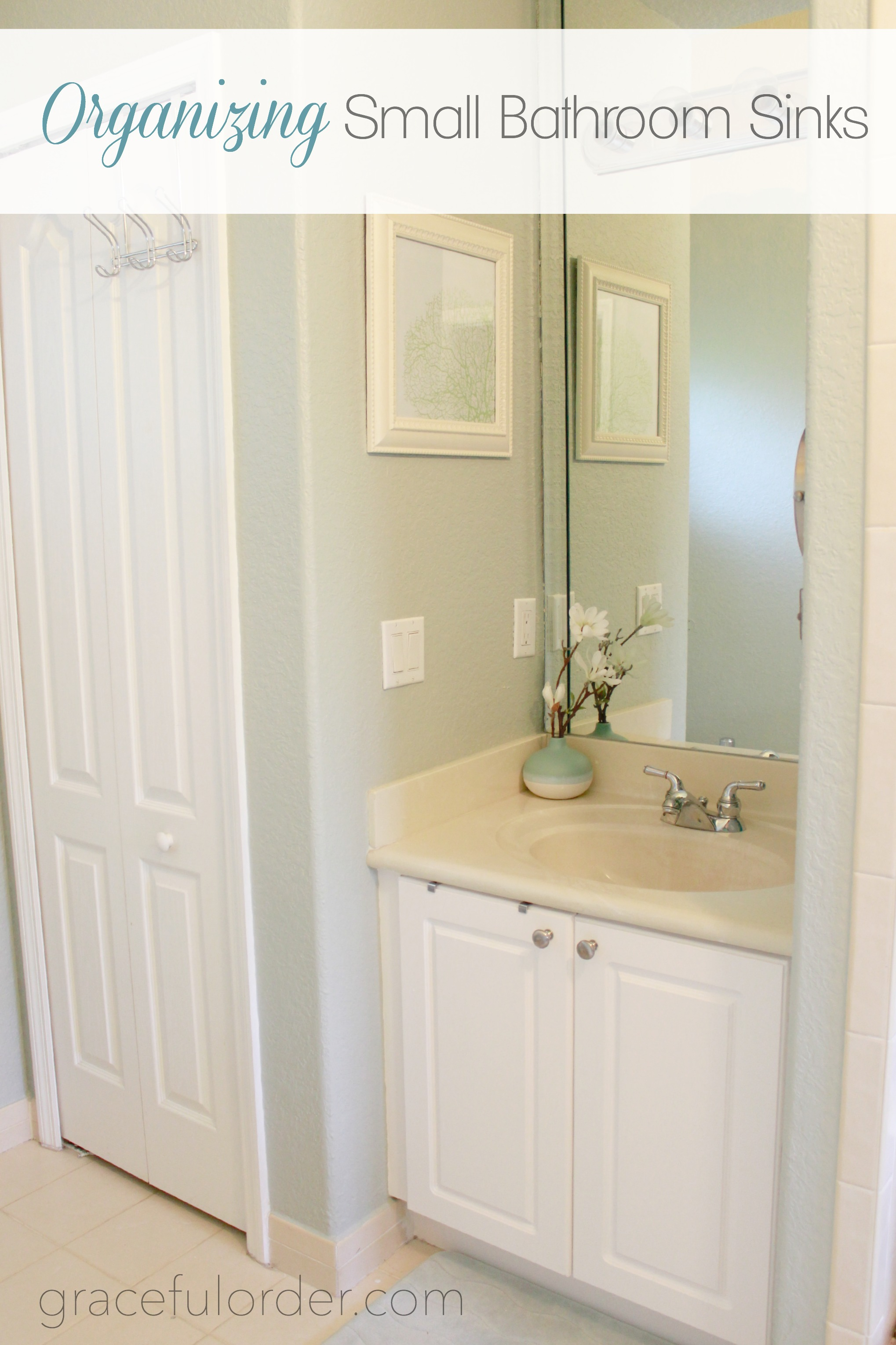 Picture of: Organizing Small Bathroom Sinks Graceful Order