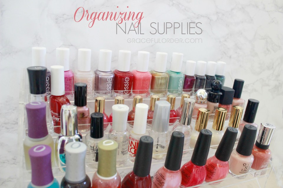 Organizing Nail Supplies