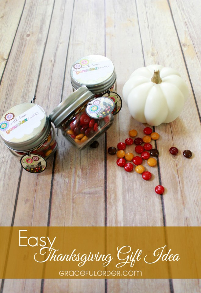 Easy Thanksgiving Gift Idea