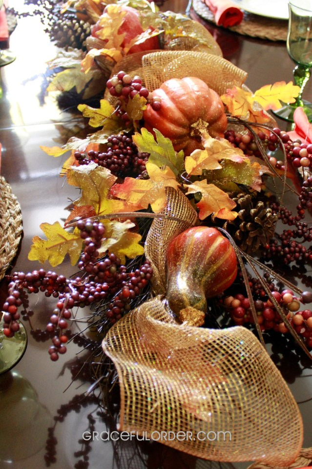 Five Minute Thanksgiving Table