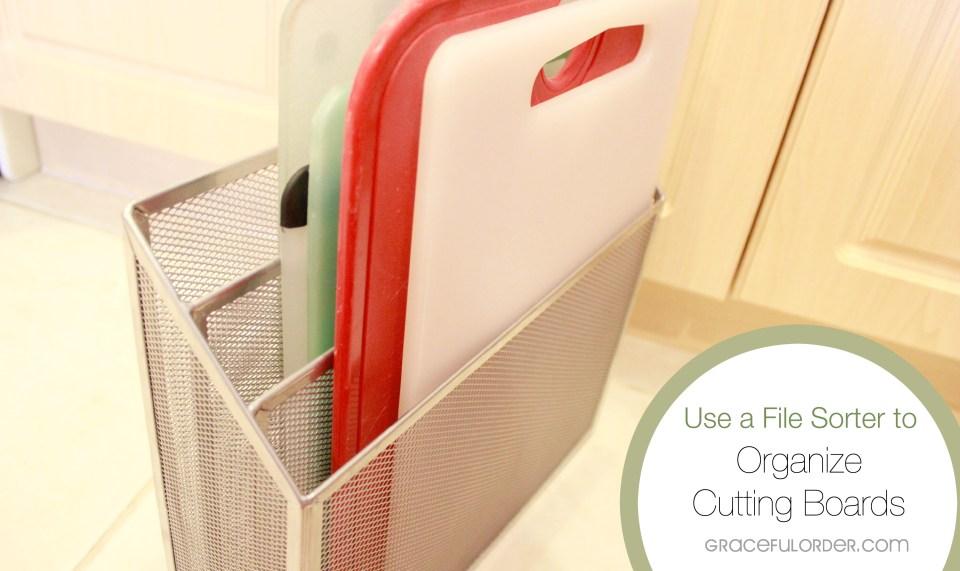 Organize Under Your Kitchen Sink