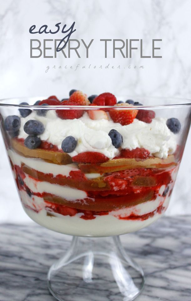 Easy Berry Trifle Cover