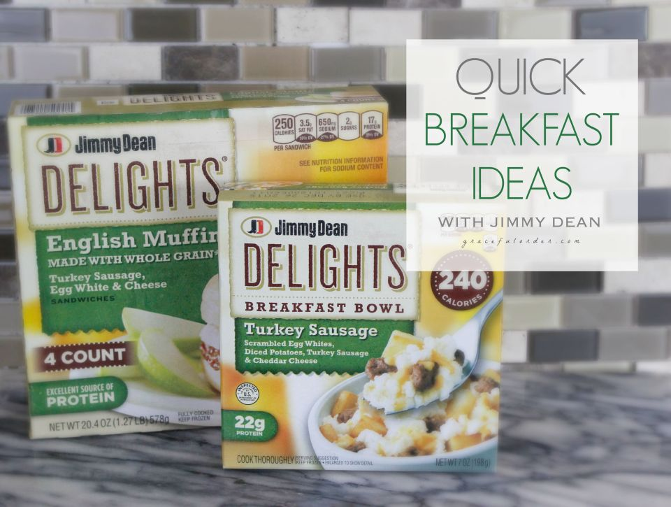 Quick Breakfast Ideas with Jimmy Dean