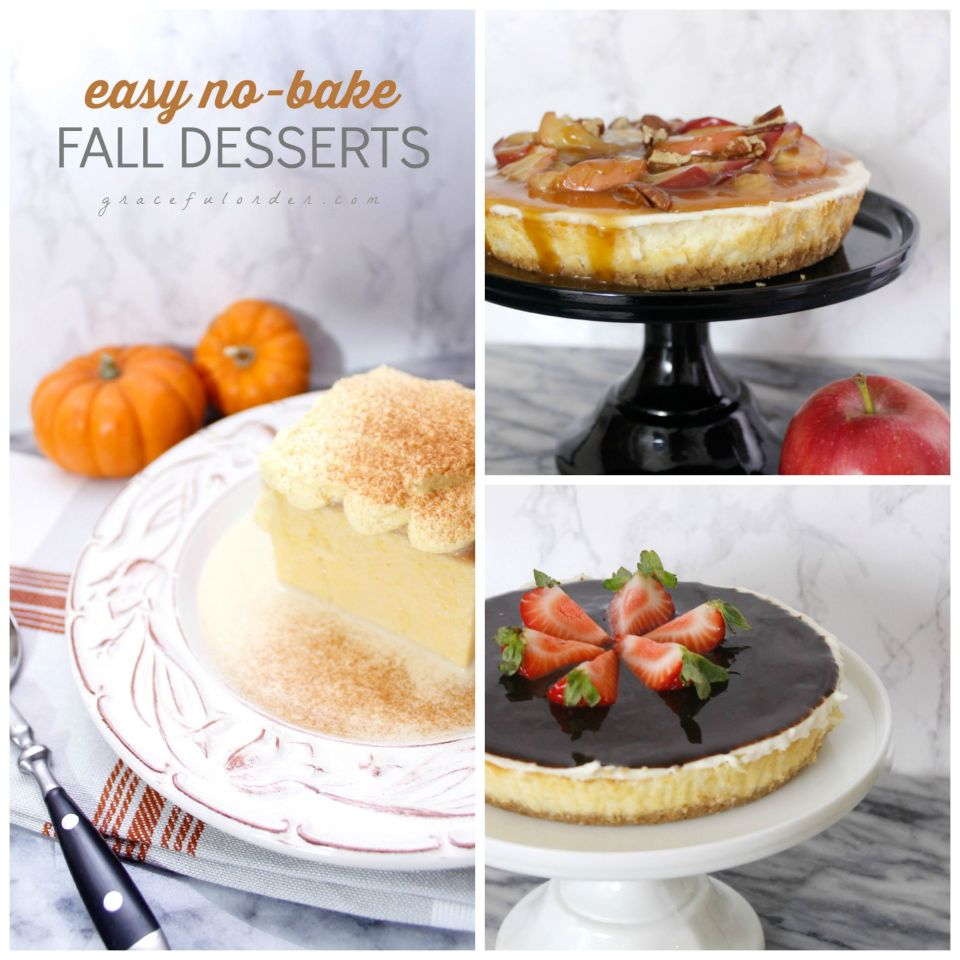 Easy No Bake Fall Desserts