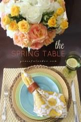 Easter Table Setting 2016 Cover