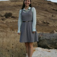Preppy Perfection: The Layered Dress Look