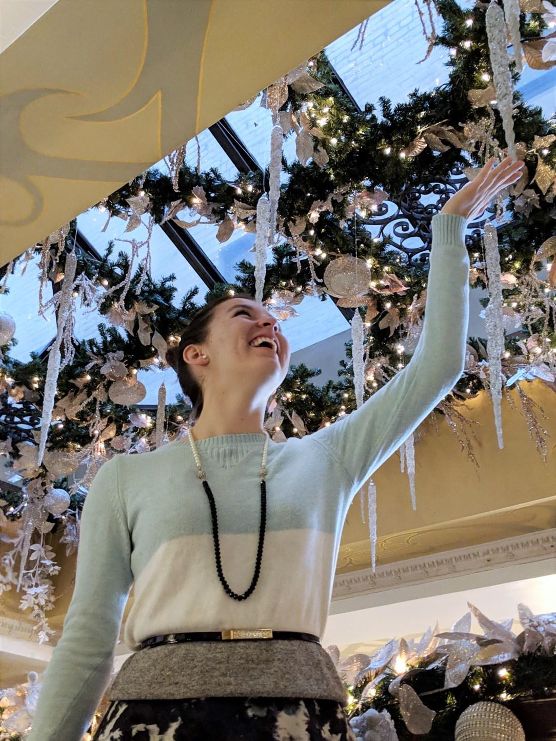 sparkles Christmas decorations snowflakes
