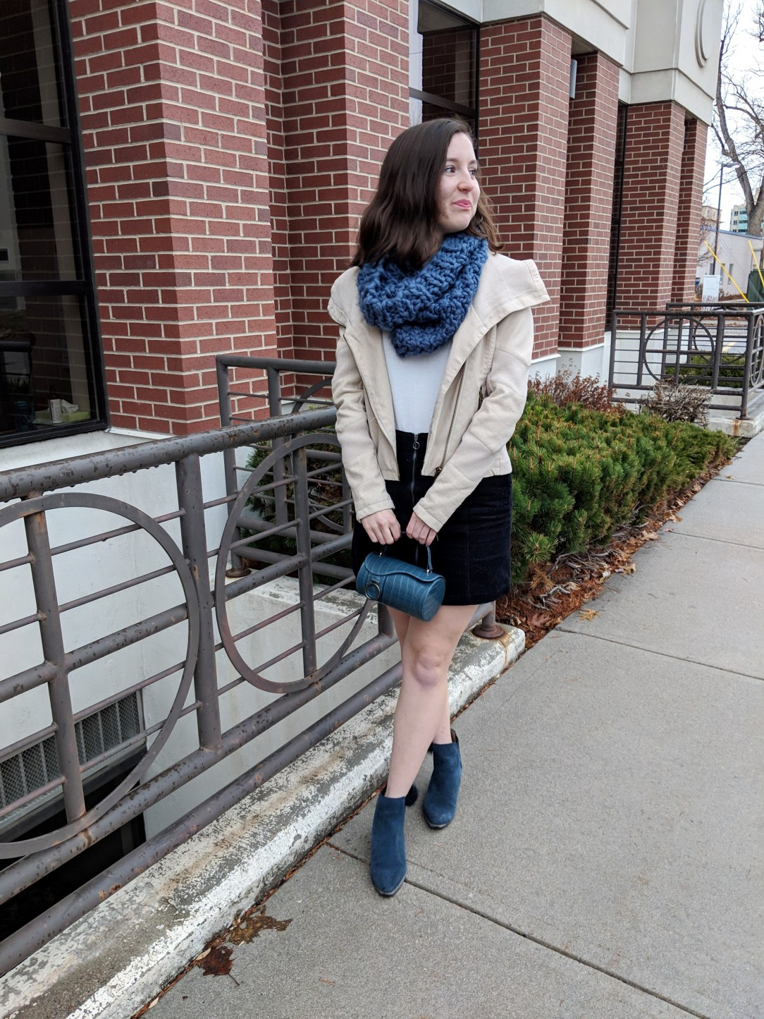 winter outfit from Francesca's
