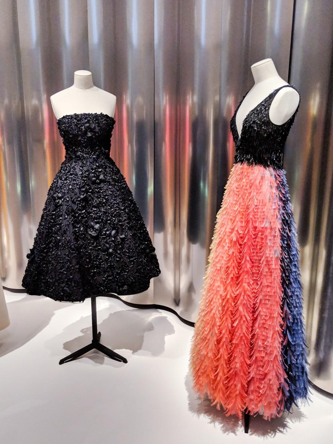 haute couture Dior dresses