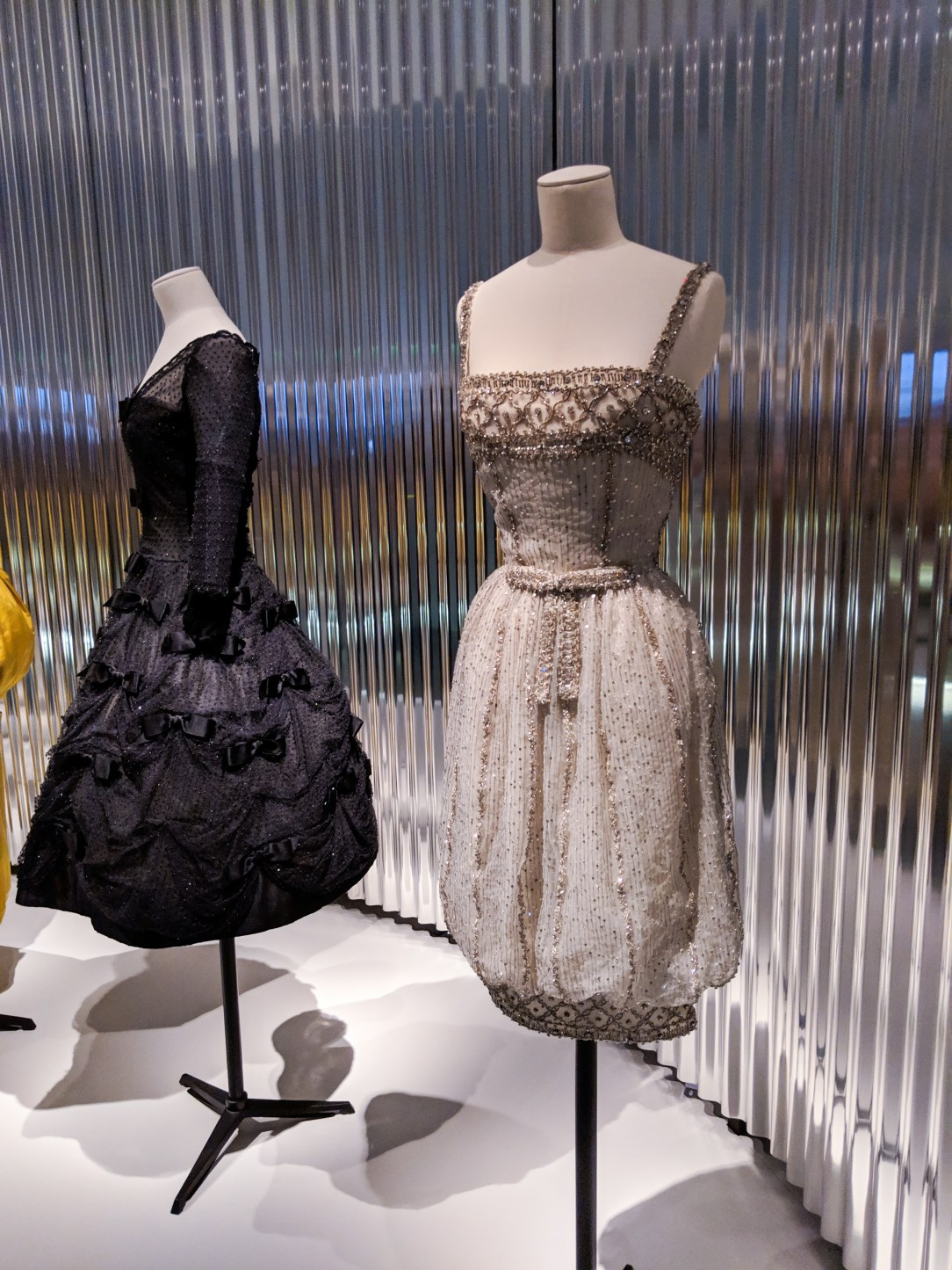 beaded Dior dress worn by Audrey Hepburn