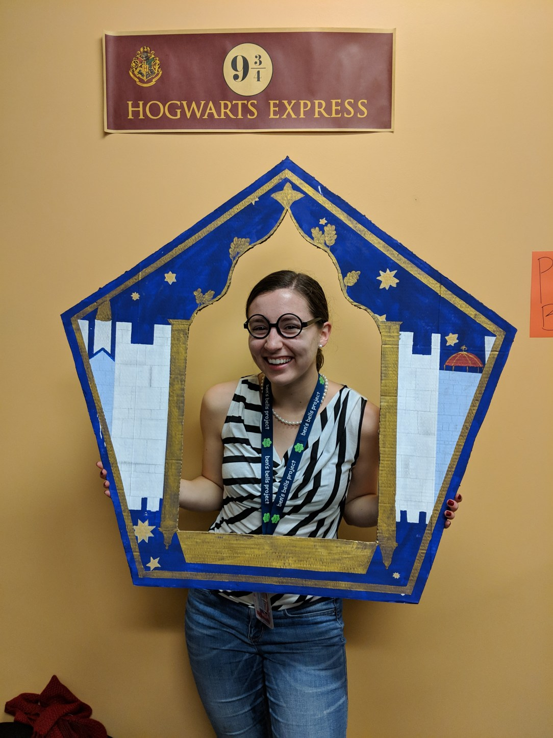 Harry Potter nerd, chocolate frogs, Hogwarts Express
