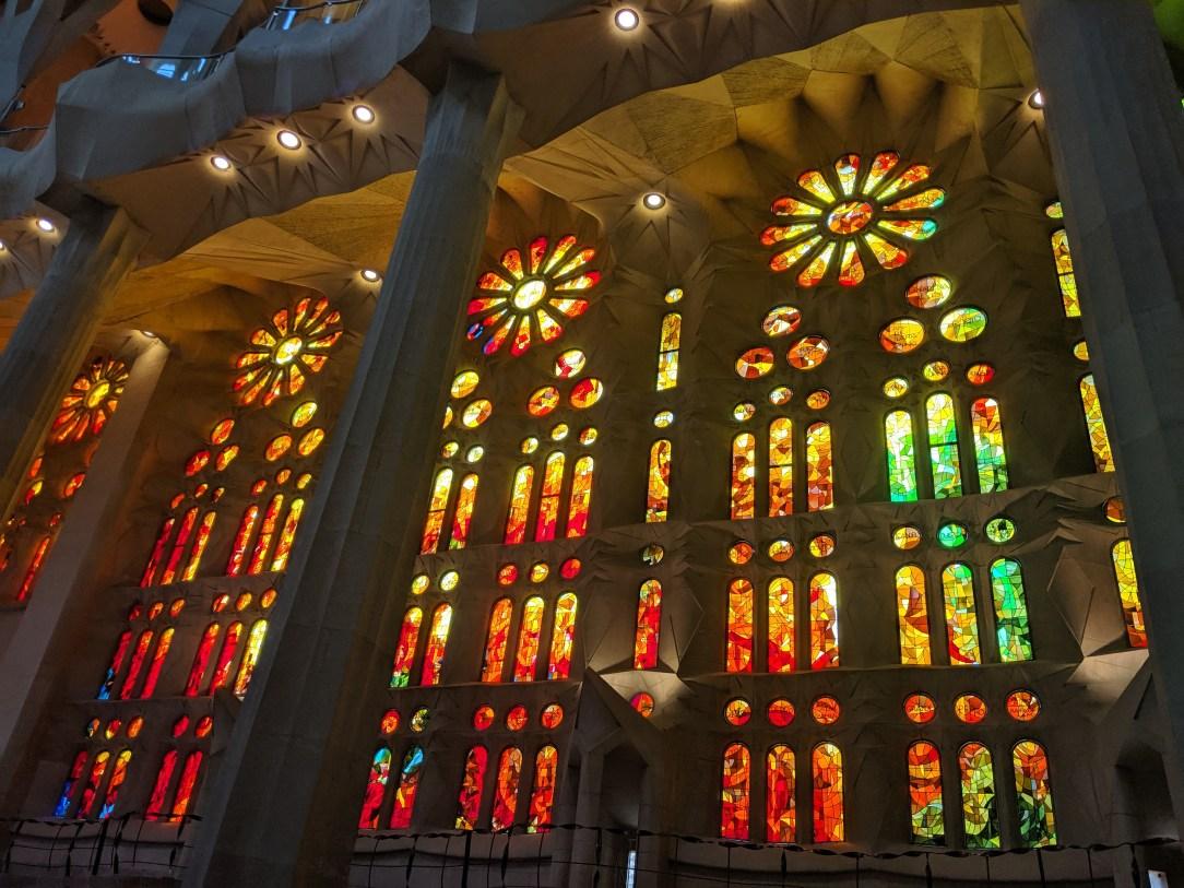 Sagrada familia, Barcelona,