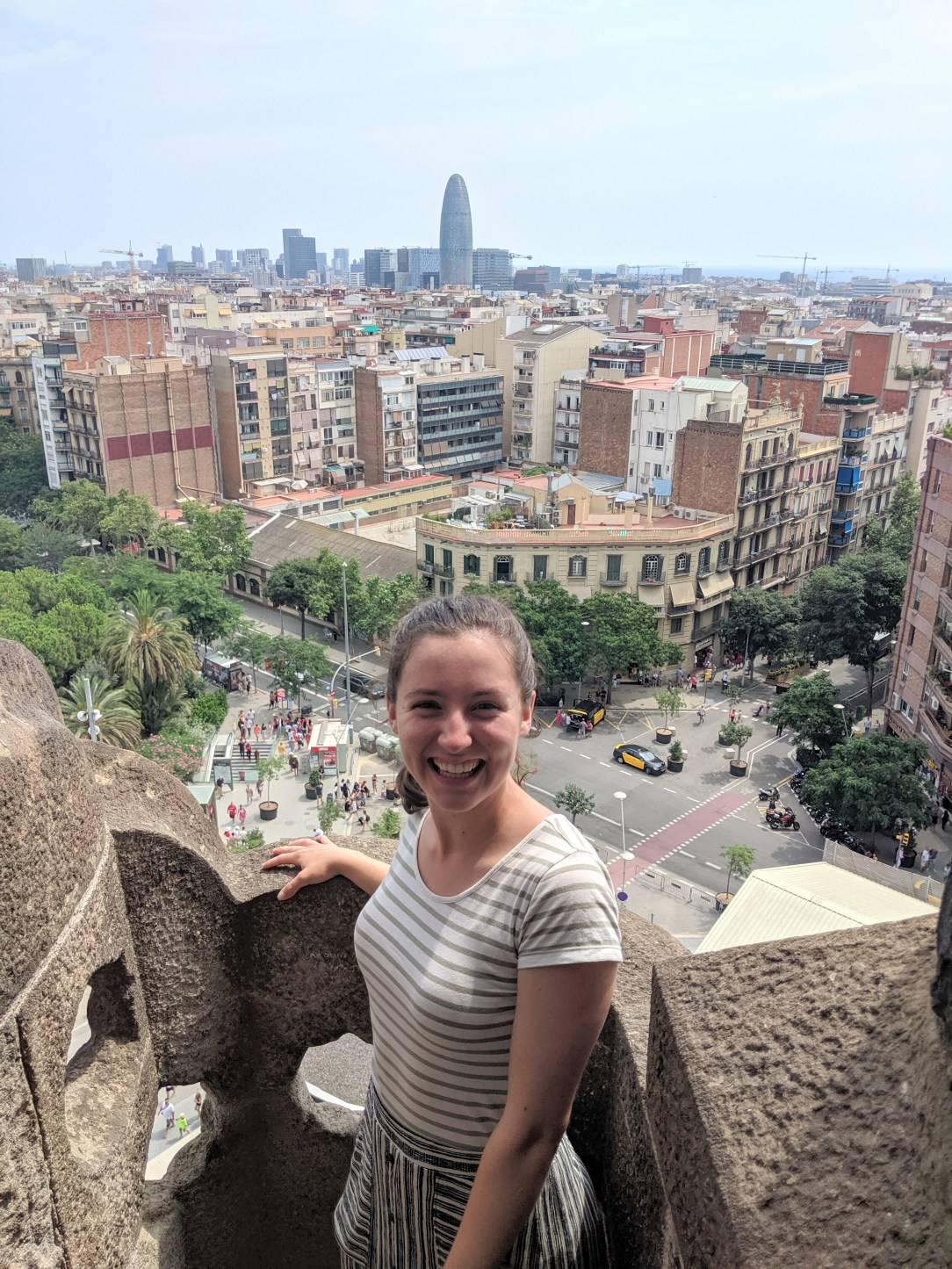 Sagrada familia, City view, Barcelona, Spanish style