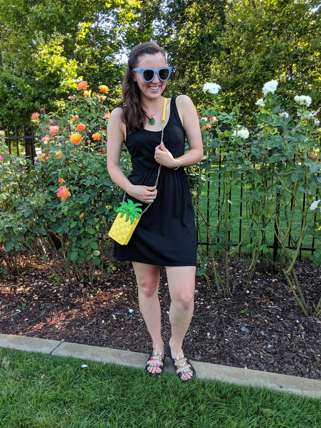 summer outfit, colorful accessories, Charming Charlie bankrupt