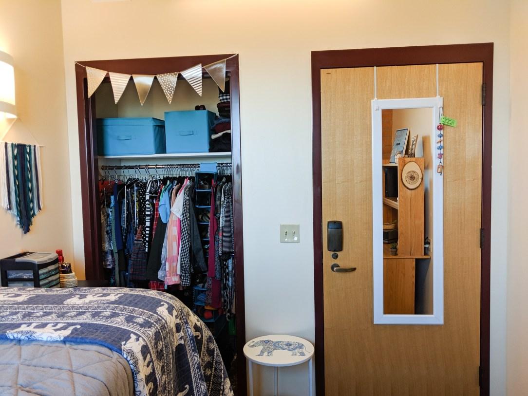 college student, college dorm room makeover, room makeover