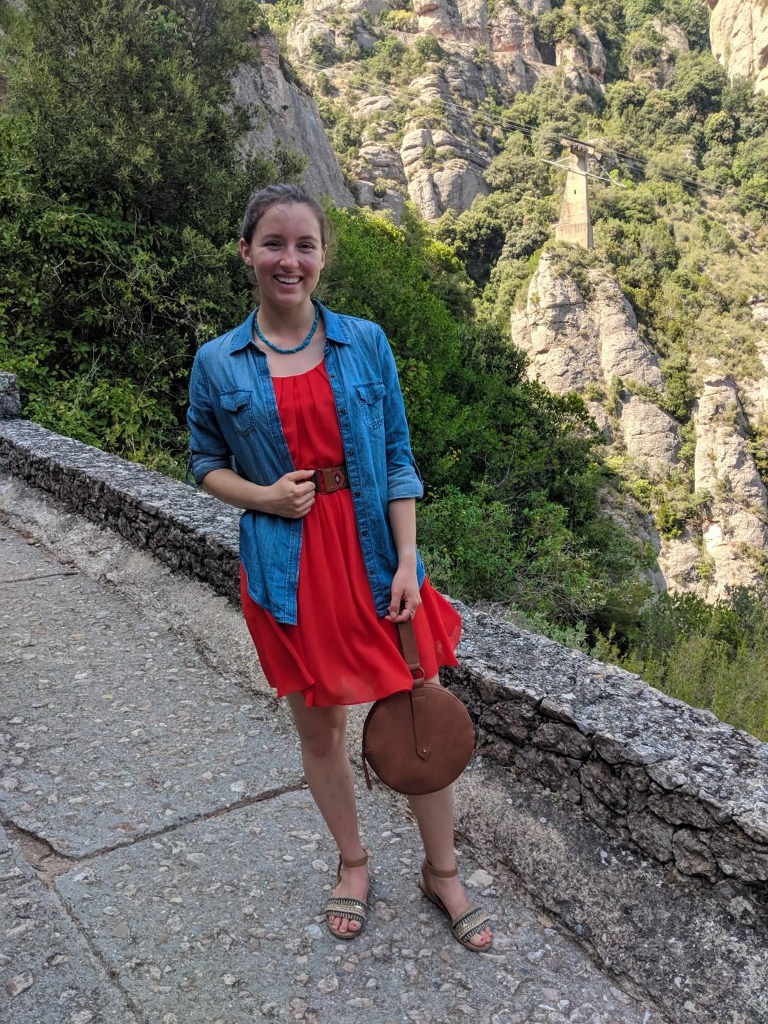 Spain, Barcelona, hiking, mountain range, views