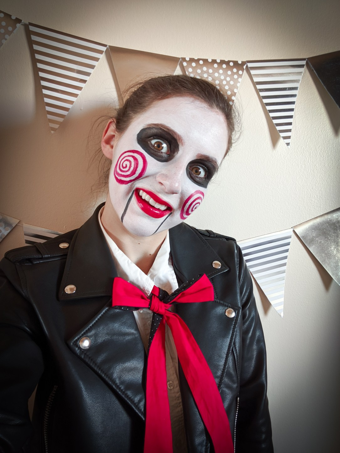 puppet, Halloween costume, Saw, face paint