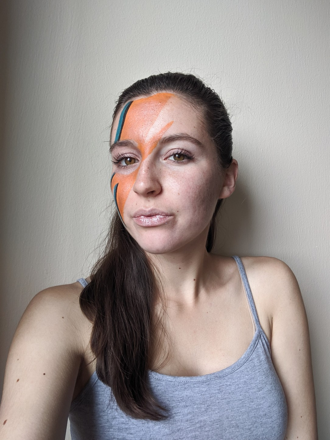 face paint, Halloween, costume idea