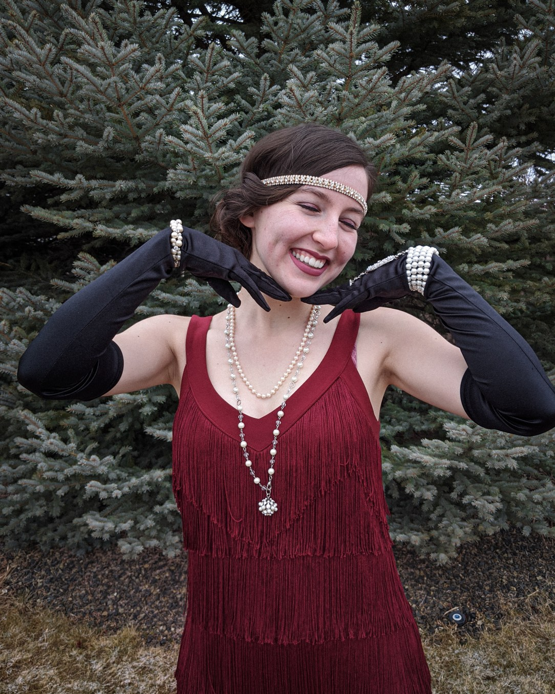 Roaring 20s, flapper girl, new decade, 2020