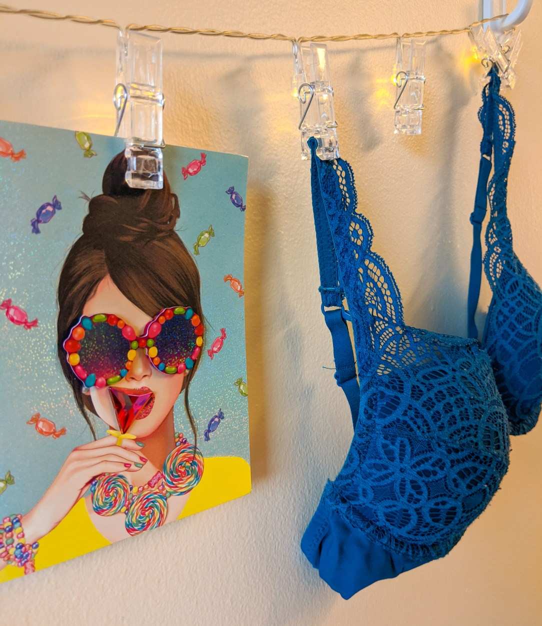 lace bras, card collection, Papyrus, Hallmark cards
