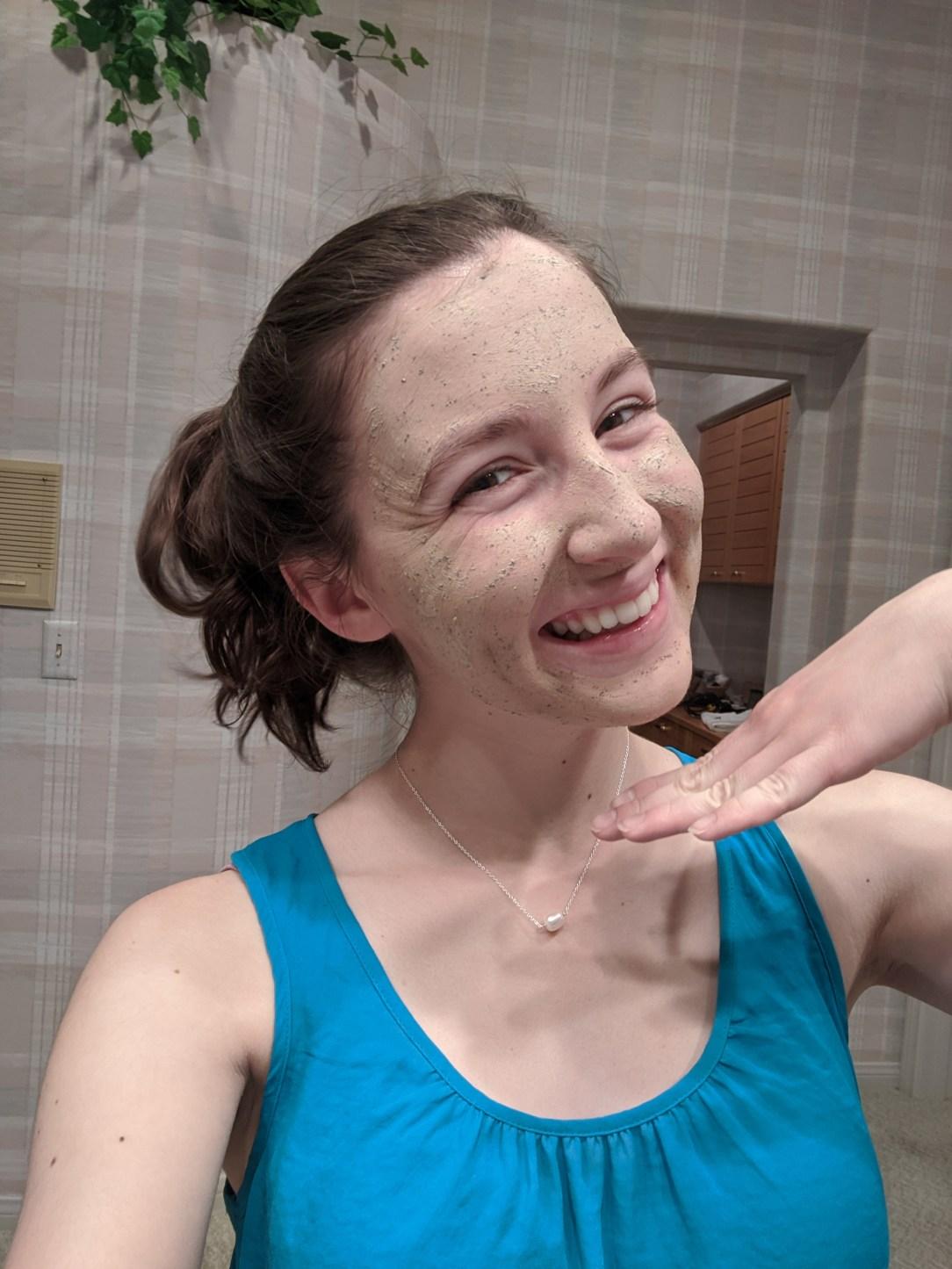 face-mask-spa-night-quarantine-activities