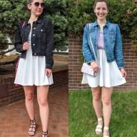 One Dress, Two Ways