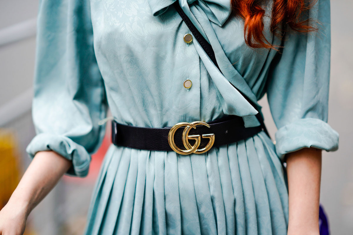 We still love the Gucci belt
