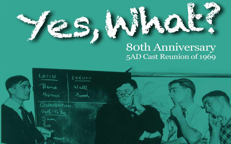 Yes What's 80th Anniversary Freebie – the 1969 Cast Reunion 1969