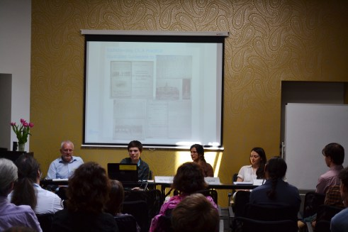 Constructing Space through Objects (2): Nadja Weck, Olha Martynyuk, Iulia Ciangă. Chair: Michael Harbsmeier