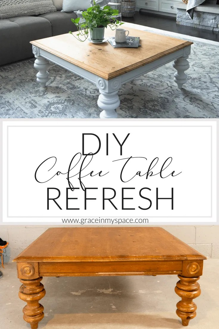 diy coffee table how to transform a