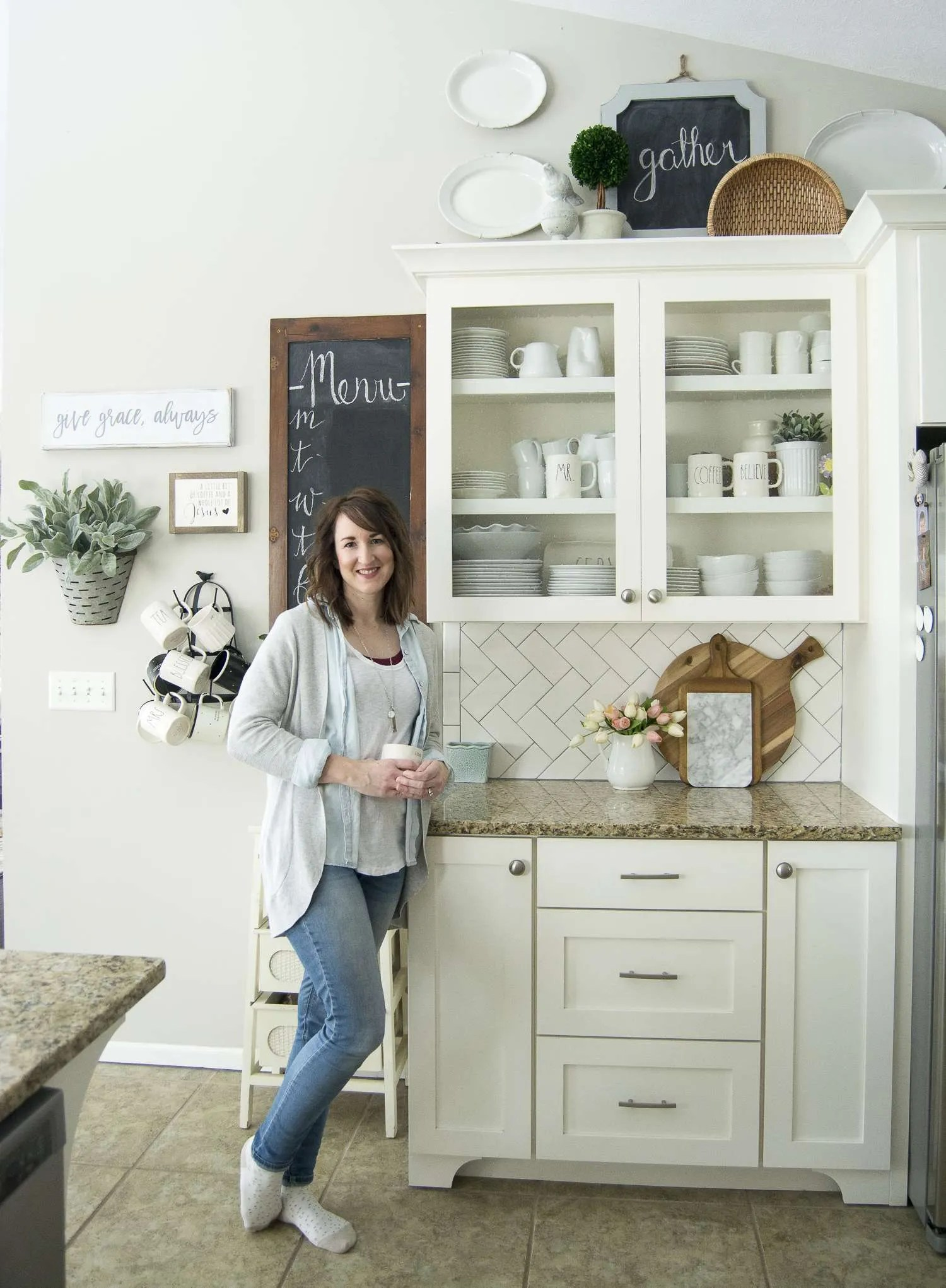 kitchen deco 60 island spring decor easy ways to beautify your for are you looking pretty and practical ideas here some sure