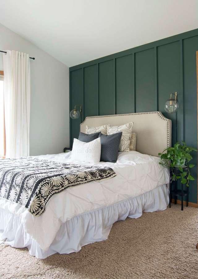 Modern Farmhouse Bedroom Decor: Finishing Touches | Grace ...