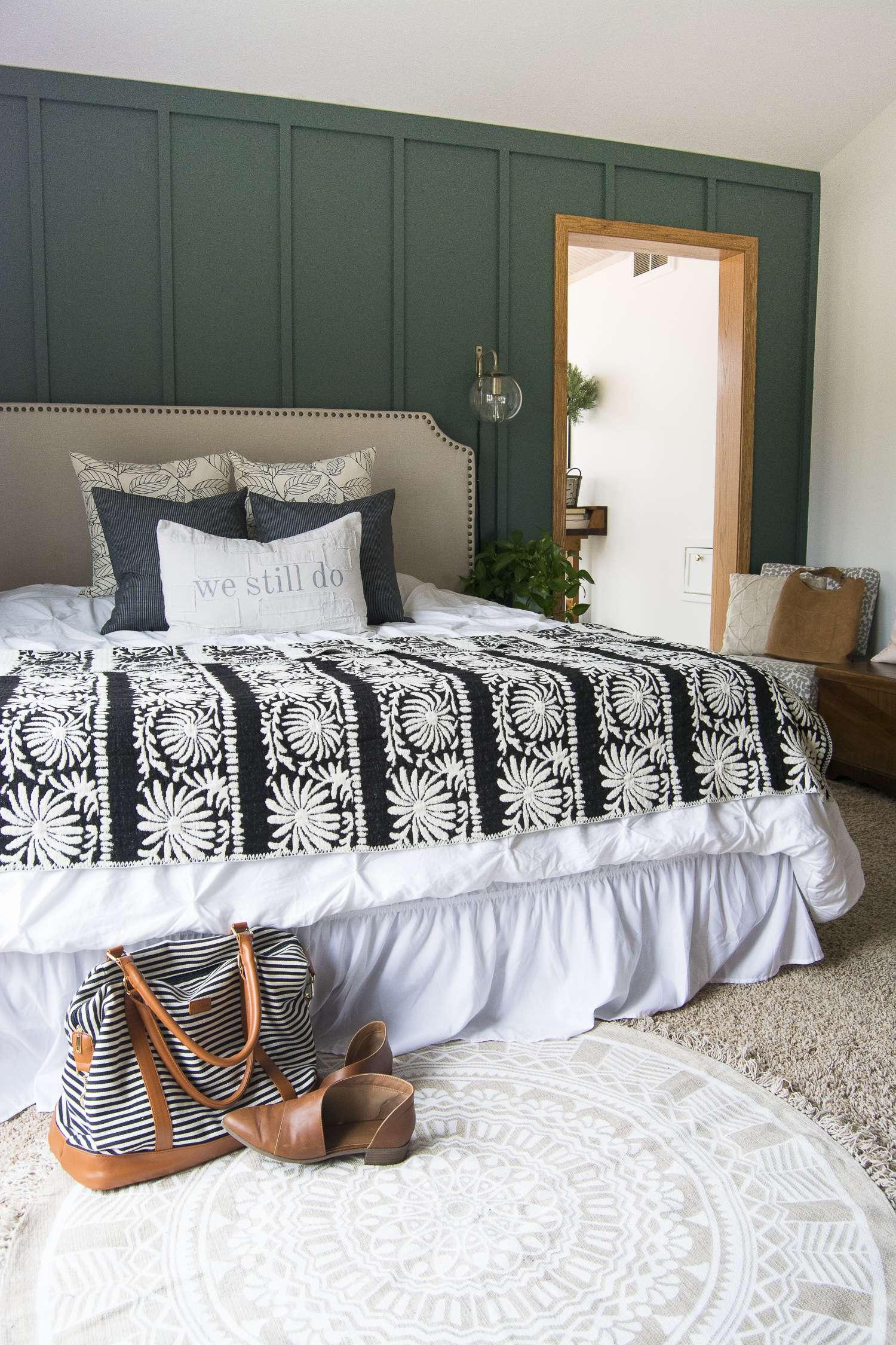 Modern Farmhouse Bedroom Decor Finishing Touches  Grace