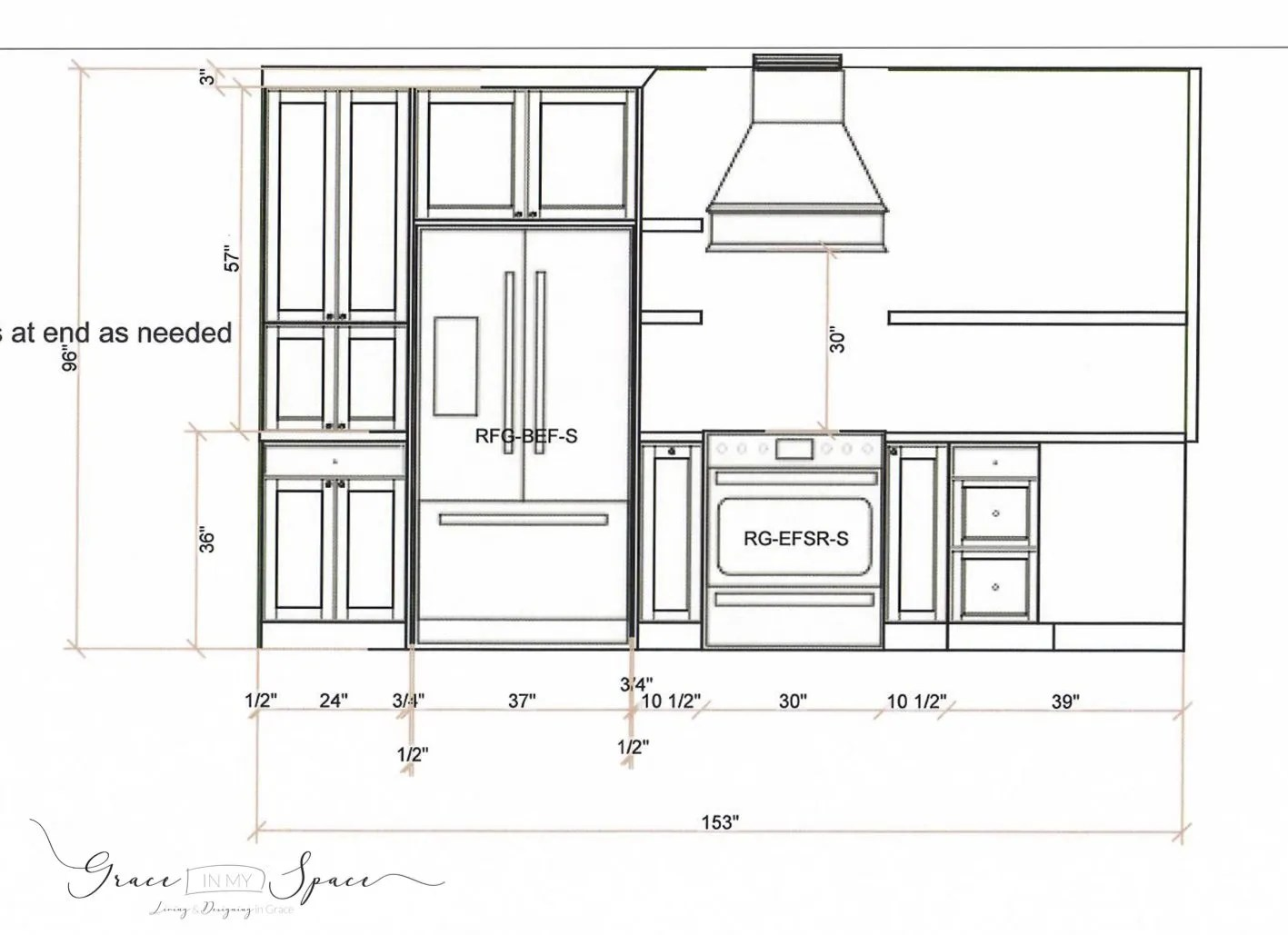 Custom Kitchen Design Plan