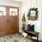 How To Style A Small Foyer With A Narrow Entryway Bench Grace In My Space