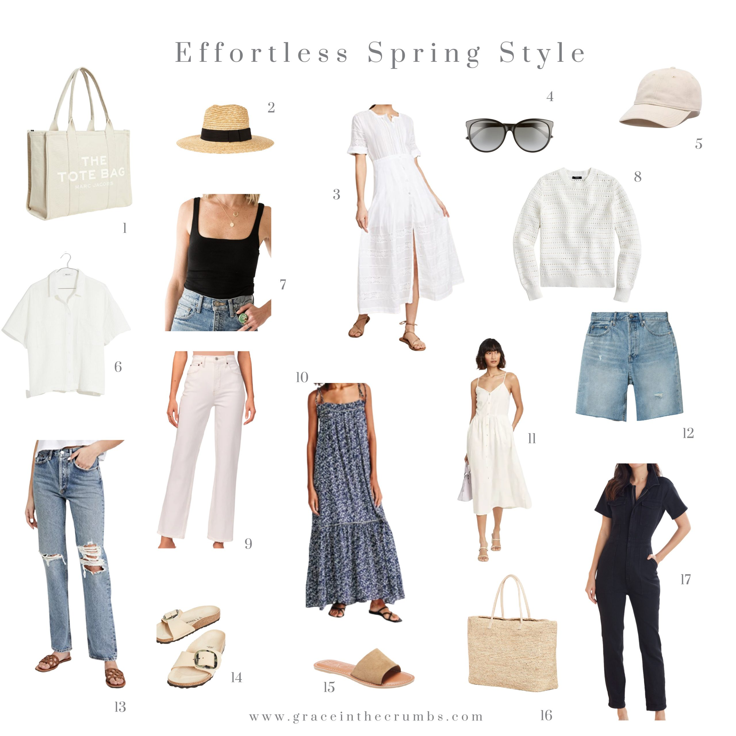 My effortless spring style
