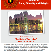 Society of Race, Ethnicity and Religion:  Schedule