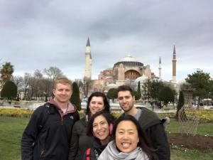 Hagia Sofia tour group Istanbul