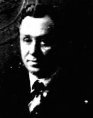 Robert Goldstein's 1921 passport photo