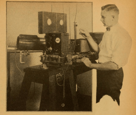 Tolhurst and his machine