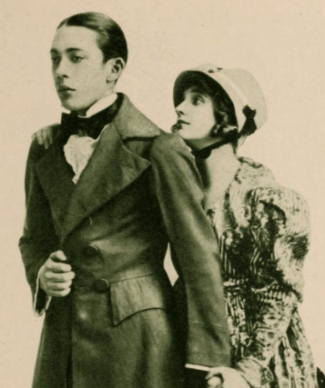 Pickford and Louise Huff