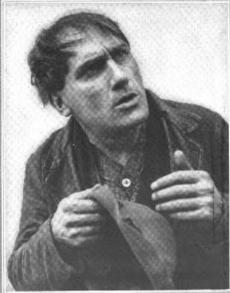 George Beban, in character...