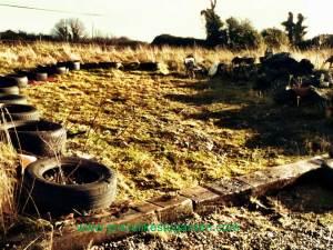 tyres-in-garden