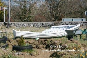 old-white-boat